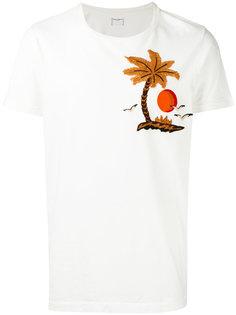 футболка с вышивкой пальмы Htc Hollywood Trading Company