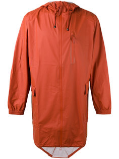 hooded zip up jacket Rains