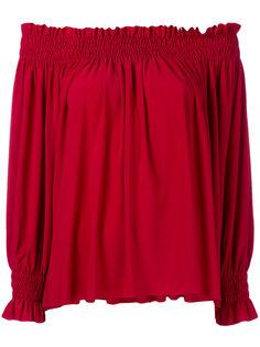 крестьянская блузка  Norma Kamali
