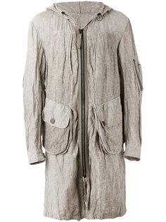 hooded jacket Ziggy Chen
