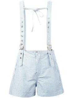 шорты с подтяжками Kenzo