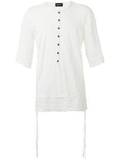 linen-trimmed T-shirt Andrea Yaaqov