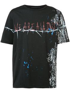 all dust print T-shirt Haider Ackermann