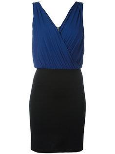 двухцветное платье Versus