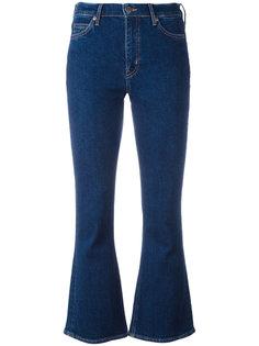 укороченные расклешенные джинсы Mih Jeans