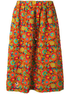 юбка с цветочным принтом  Comme Des Garçons Comme Des Garçons