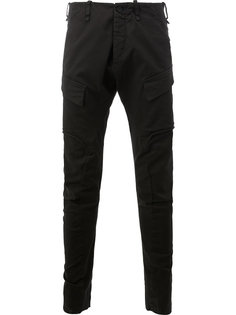 зауженные брюки-карго Masnada