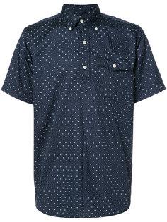 polka dot short sleeve shirt Engineered Garments
