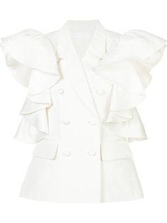 ruffle sleeve blouse Co