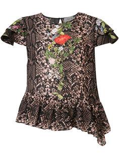 python print blouse Preen By Thornton Bregazzi