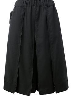 шорты со складками Moohong