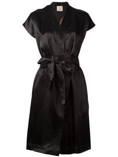 платье с запахом и V-образным вырезом Laneus