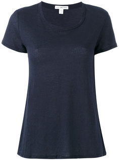 scoop neck T-shirt James Perse