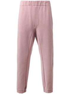 спортивные брюки с контрастными панелями Oamc