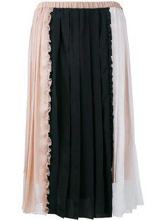юбка со вставками Nº21