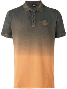 футболка-поло с градиентным принтом Just Cavalli
