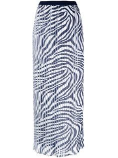 плиссированная длинная юбка Michael Michael Kors