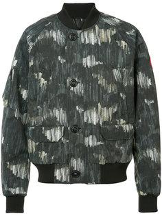 camouflage bomber jacket Canada Goose