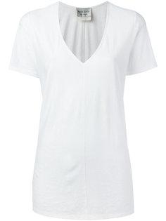 футболка с v-образным вырезом  Forte Forte
