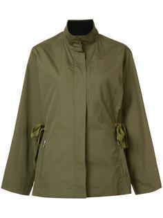 куртка с завязками сбоку Grey Jason Wu