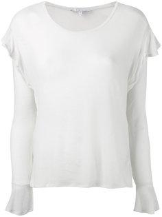 блузка с оборками  Iro