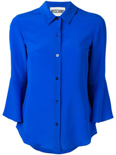 рубашка с расклешенными рукавами Moschino