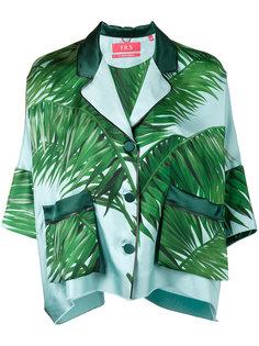 пижамный топ с принтом листьев пальмы F.R.S For Restless Sleepers