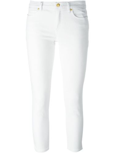 укороченные джинсы кроя скинни  Michael Michael Kors