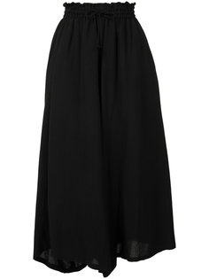 wide-legged cropped trousers Ys Y`s