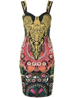 платье с орнаментом Cavalli Class