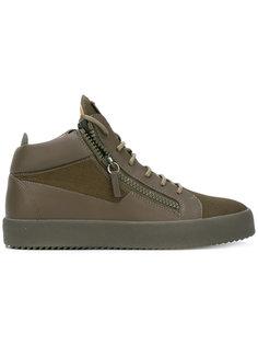 Kriss hi-top sneakers Giuseppe Zanotti Design