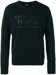 logo-appliquéd sweatshirt Armani Jeans