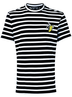 полосатая футболка с заплаткой в виде бананов Markus Lupfer