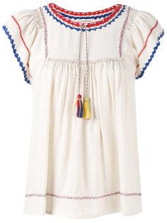 tassel blouse  Ulla Johnson