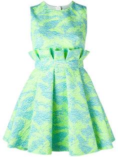 жаккардовое платье мини MSGM
