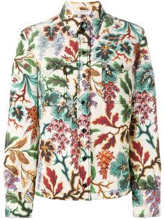 рубашка с цветочным принтом Philosophy Di Lorenzo Serafini
