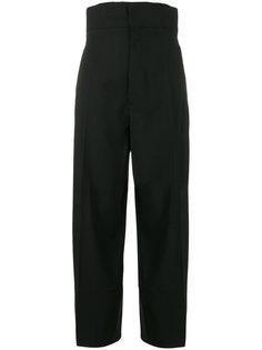 укороченные брюки с завышенной талией Jacquemus