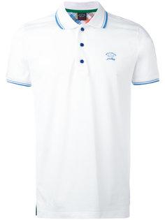 футболка-поло с вышитым логотипом Paul & Shark