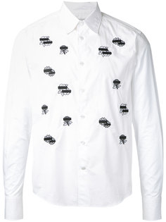 flower wappen shirt  Anrealage