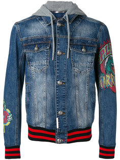 джинсовая куртка Fallow Philipp Plein
