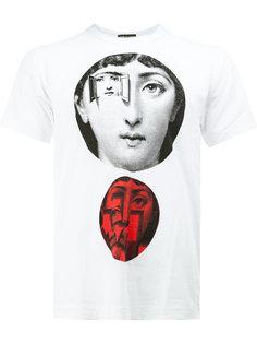 футболка с принтом Comme Des Garçons Homme Plus x Fornasetti  Comme Des Garçons Homme Plus
