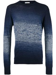 свитер с градиентным узором Paolo Pecora