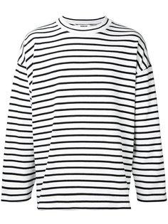 striped sweatshirt monkey time