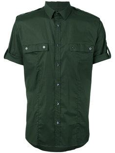 однотонная рубашка Les Hommes