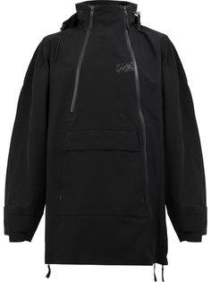 пальто на молнии с капюшоном Yang Li