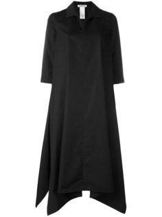 асимметричное платье А-образного кроя Max Mara