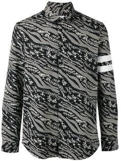 abstract print shirt Les Benjamins