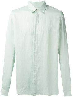 рубашка с потайной застежкой Qasimi