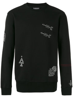 embroidered motif sweatshirt Lanvin