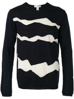 джемпер с контрастными панелями Comme Des Garçons Shirt
